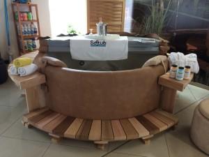 Vířivka Softub Resort 300+ s dřevěným obložením